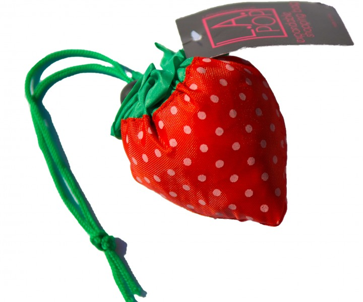 Strawberry Shopping Bag | LA Pop Designs™